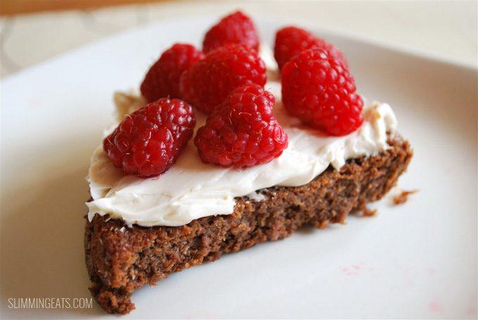 Low Syn Chocolate Scan Bran Cake