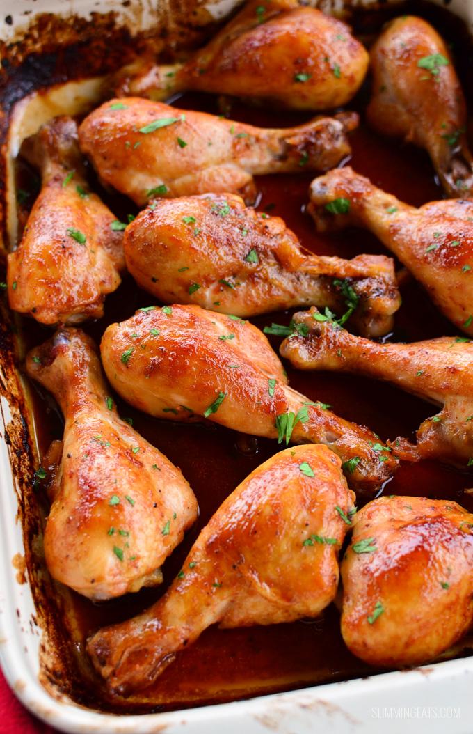 Slimming Eats Maple Glazed Chicken - gluten free, dairy free, paleo, Slimming World (SP) and Weight Watchers friendly