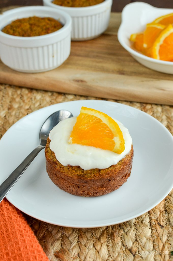Low Syn Carrot Cake