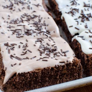 Low Syn Squidgy Chocolate Brownie Cake