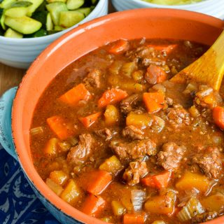 Syn Free Beef and Vegetable Casserole (Oven, Slow Cooker, Instant Pot)
