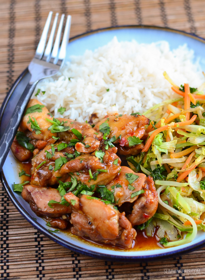 Low Syn Thai Spiced Chicken Slimming Eats Recipe