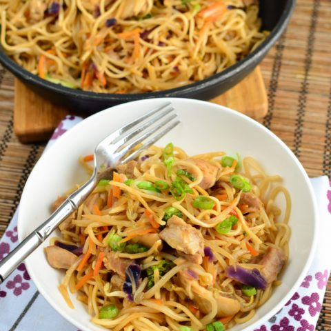 Low Syn Yakitori Chicken with Noodles