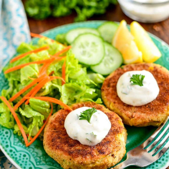 Low Syn Crab Cakes