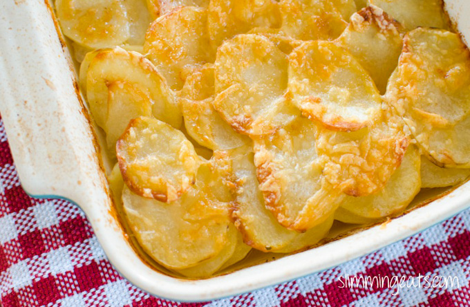 Slimming Eats Potato Gratin Gluten Free Vegetarian Slimming World And Weight Watchers Friendly