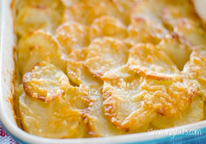 Syn Free Potato Gratin | Slimming Eats - Slimming World ...