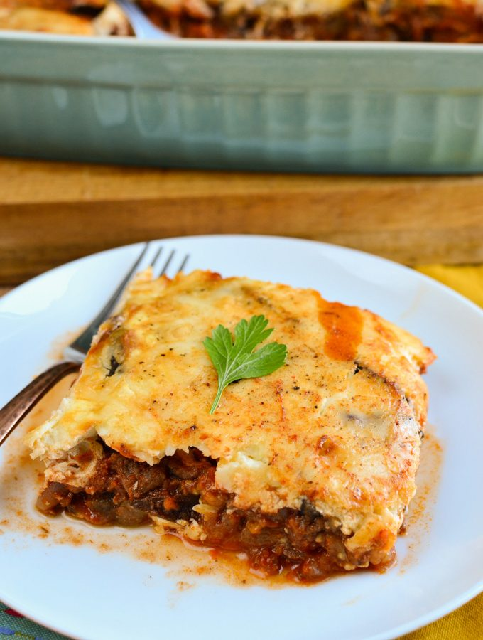 Low Syn Moussaka