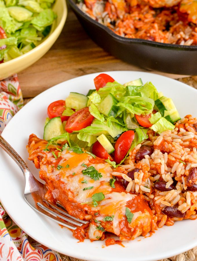 Low Syn Spicy Mexican Chicken and Rice | Slimming World