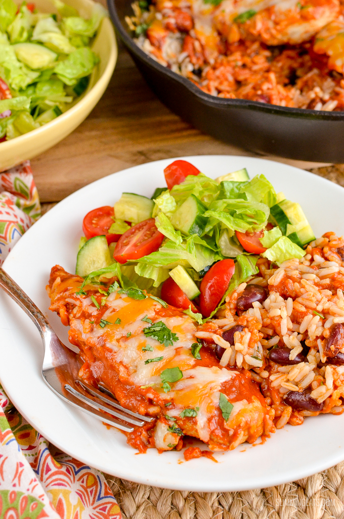 If you love Mexican food as much as me - then Impress with this delicious Spicy Mexican Chicken and Rice | gluten free, Slimming World and Weight Watchers friendly