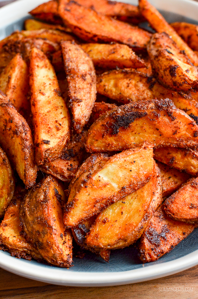 Syn Free Spicy Potato Wedges Slimming World