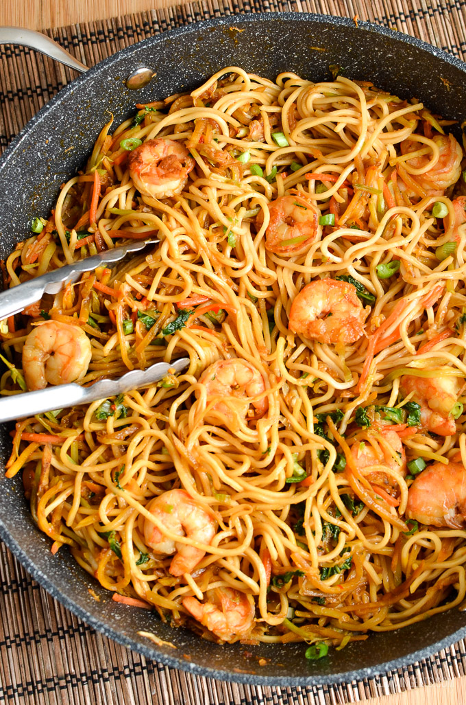 Low Syn Sweet Chilli Prawns and Noodles | Slimming Eats ...