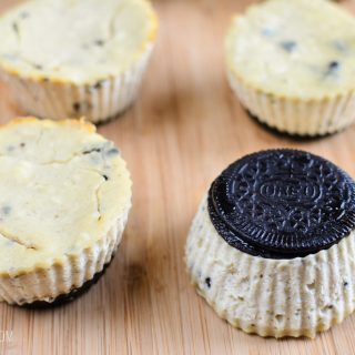 Low Syn Mini Oreo Baked Cheesecakes