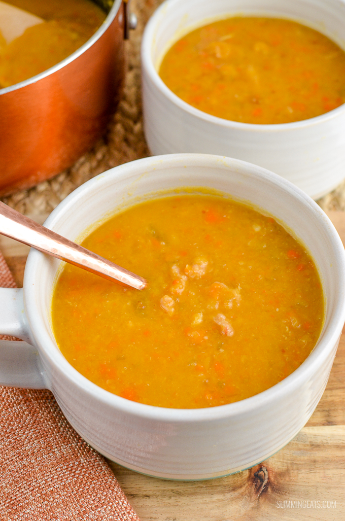 Syn Free Split Pea and Bacon Soup | Slimming Eats ...