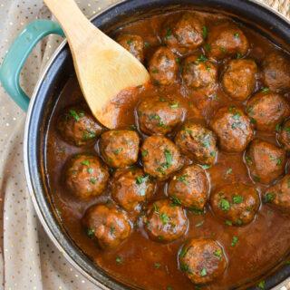 Mushroom and Parmesan Chicken Meatballs