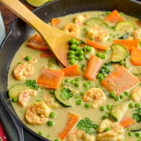 Low Syn Thai Green Prawn Curry