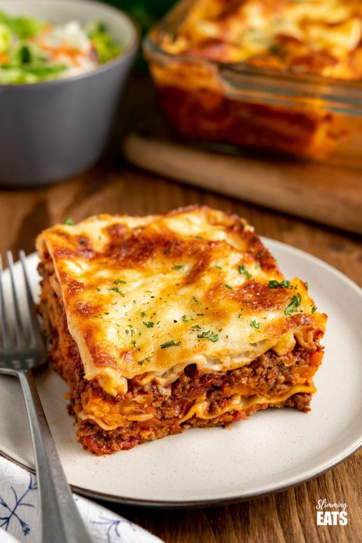 Yummy Low Syn Beef Lasagne
