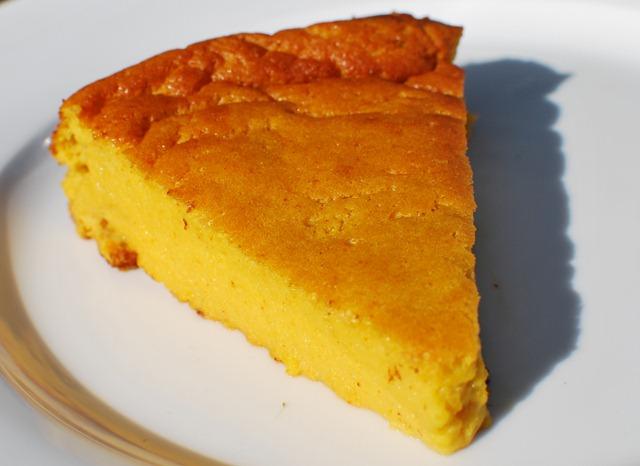 Orange and Almond Pudding Cake