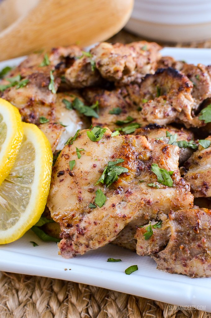 Slimming Eats Syn Free Lebanese Chicken with Roasted Peppers and Rice - gluten free, Slimming World and Weight Watchers friendly