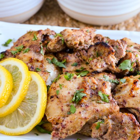 Syn Free Lebanese Chicken with Roasted Peppers and Rice