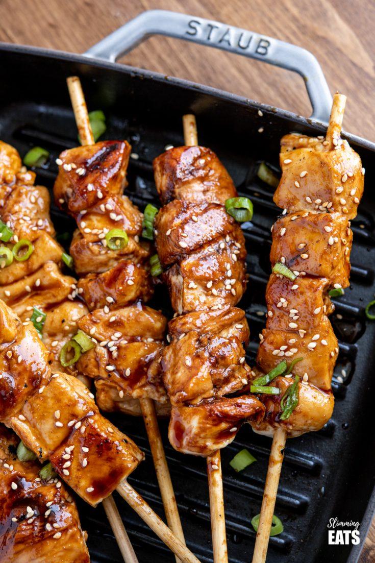 Yakitori Chicken Skewers
