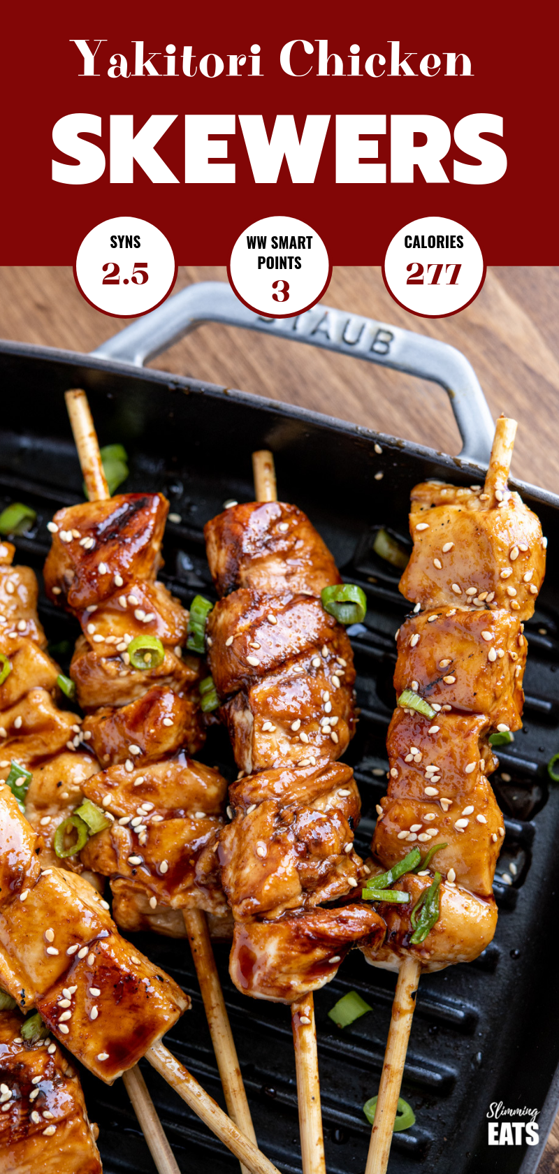 Low Syn Yakitori Chicken Skewers Slimming Eats