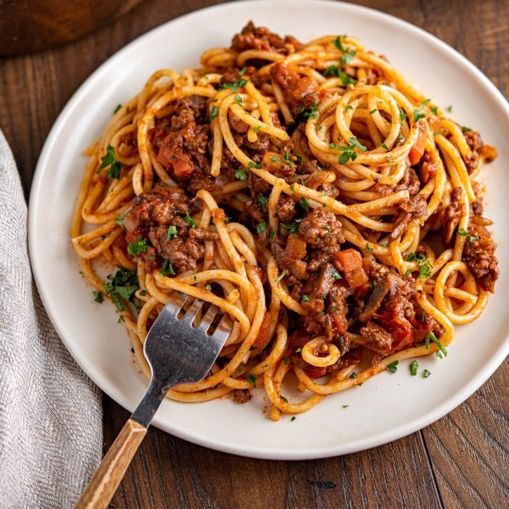 Best Ever Rich Spaghetti Bolognese Slimming Eats Recipes
