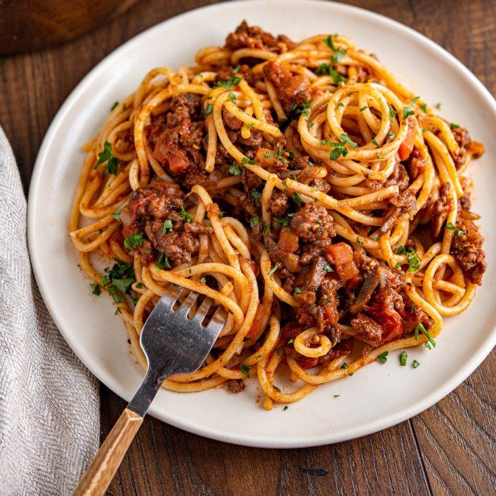 Best Ever Rich Spaghetti Bolognese