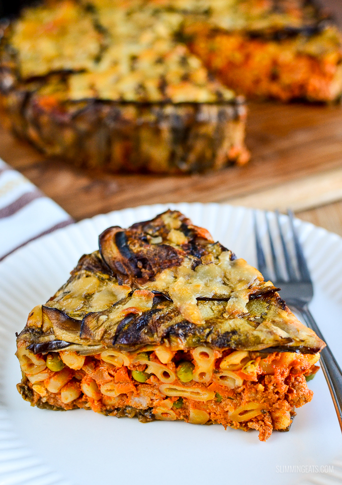 Eggplant and Pork Timbale | Slimming Eats - Slimming World ...