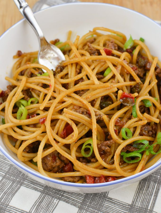 Chilli Beef Noodles