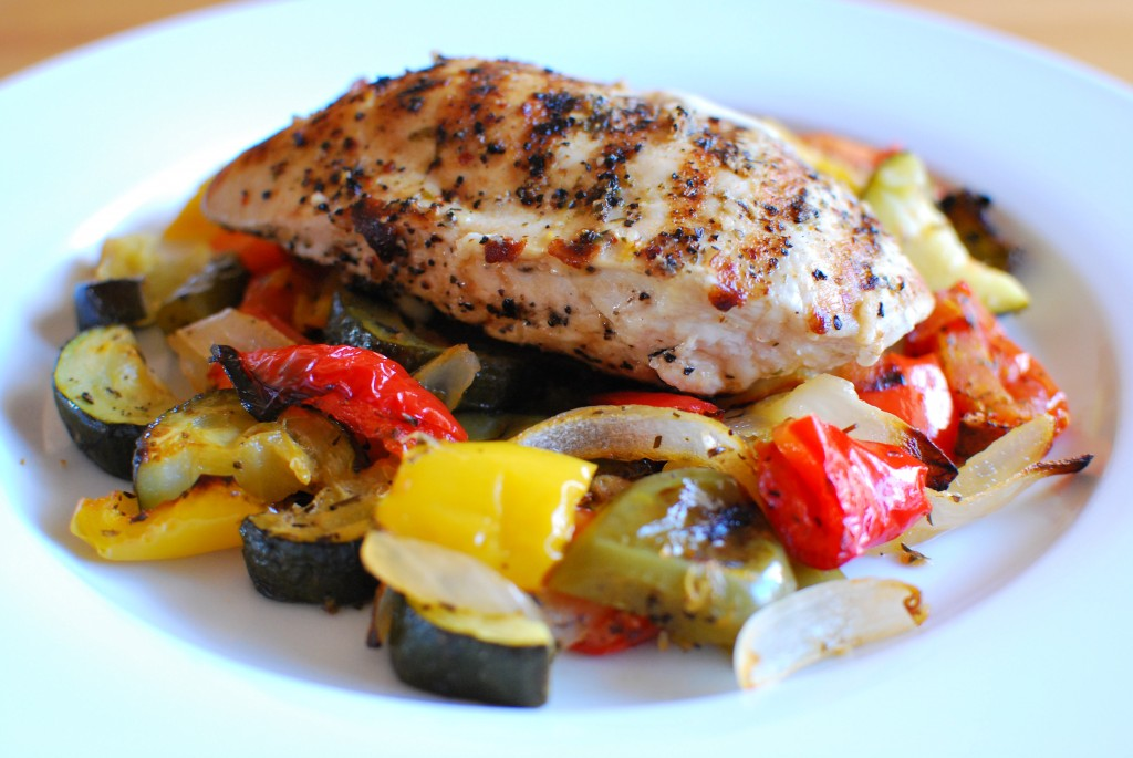 Slimming Eats Grilled Chicken stuffed with Mozzarella - gluten free, Slimming World (SP) and Weight Watchers friendly