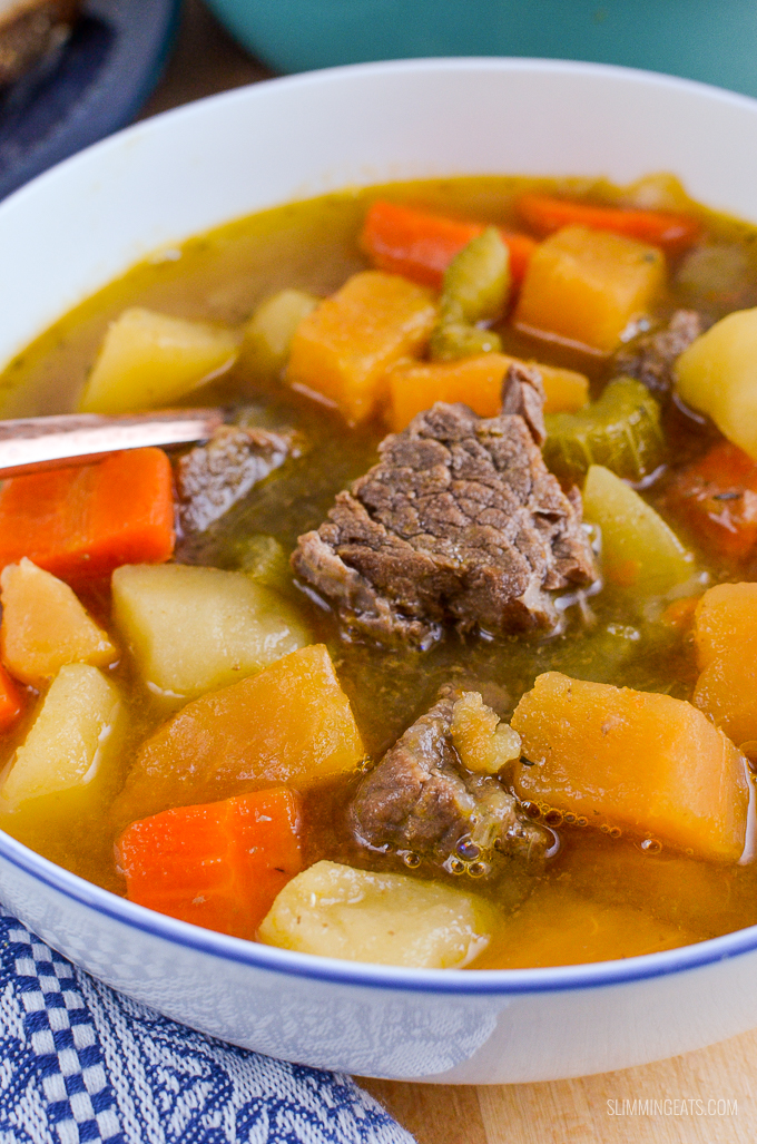 Slimming Eats Syn Free Irish Beef Stew - gluten free, dairy free, Instant Pot, Slimming World and Weight Watchers friendly