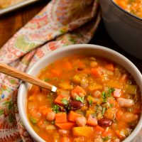 Syn Free Vegetable and Bean Stew (Stove Top and Instant Pot)
