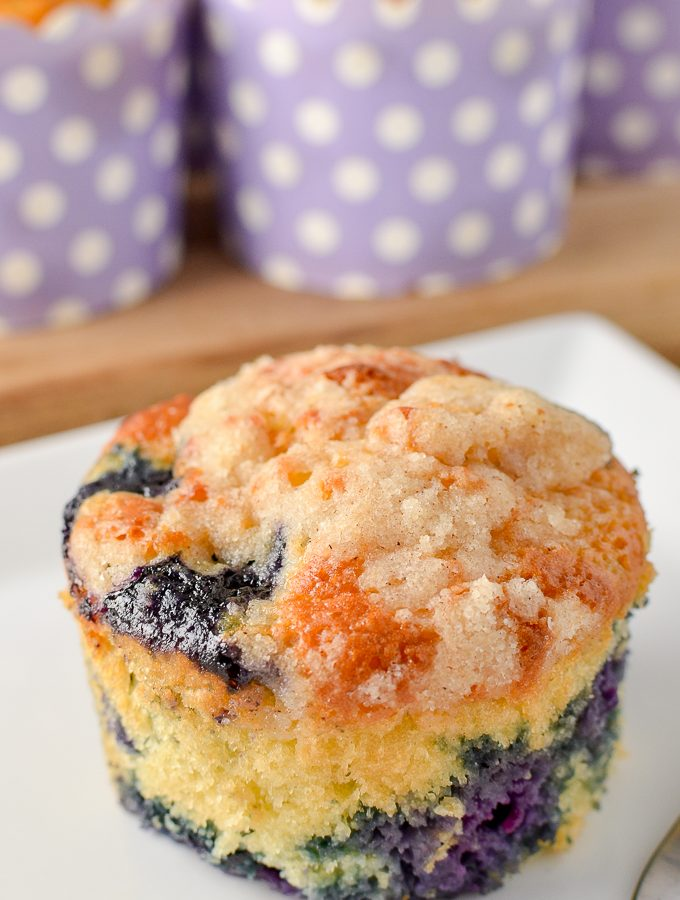 Low Syn Blueberry Muffins | Slimming World