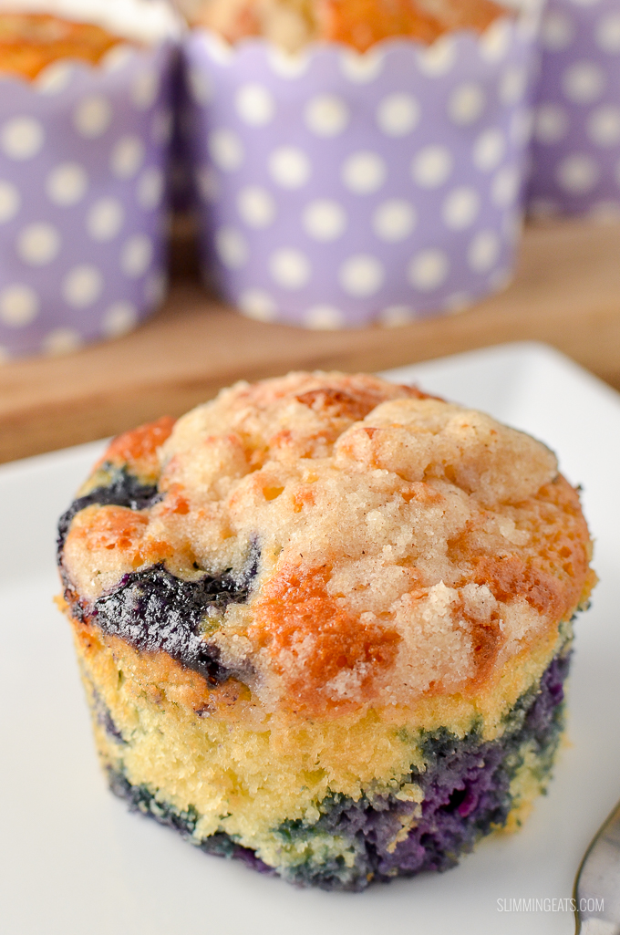 Low Syn Blueberry Muffins Slimming World Slimming Eats