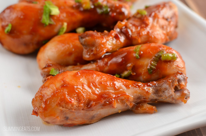 Slimming Eats Low Syn Sweet Chilli Chicken - gluten free, dairy free, Slimming World and Weight Watchers friendly