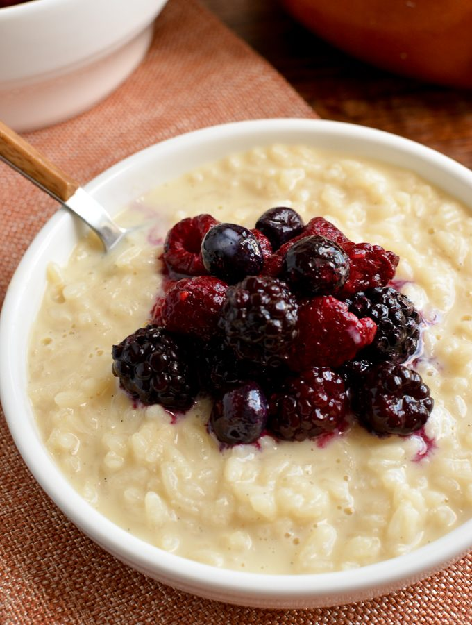 Low Syn Creamy Vanilla Rice Pudding (Stove Top or Pressure Cooker)