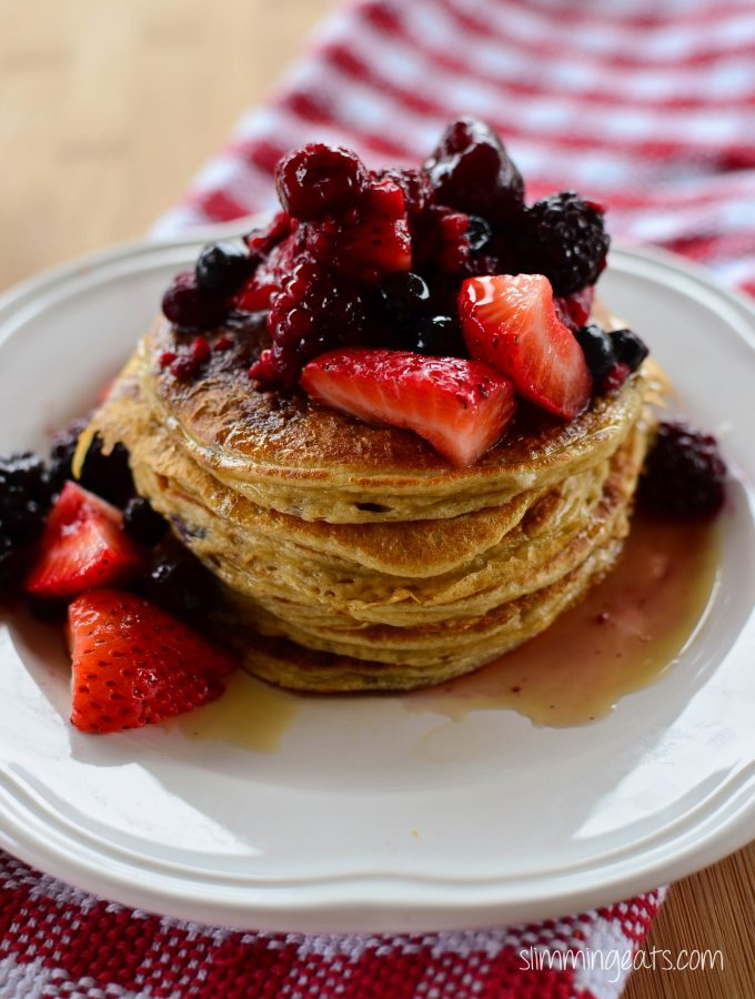 Low Syn American Style Pancakes