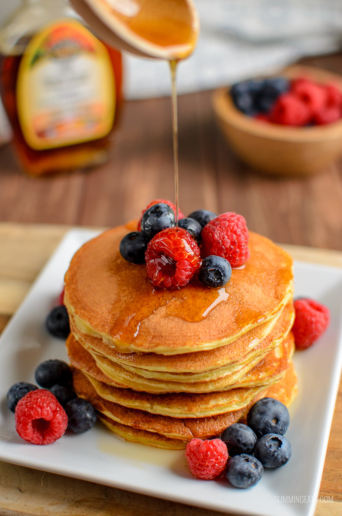 Syn Free American Style Pancakes | Slimming World