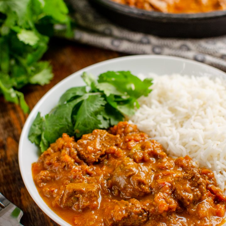 Bombay Beef Curry (Stove Top and Instant Pot)