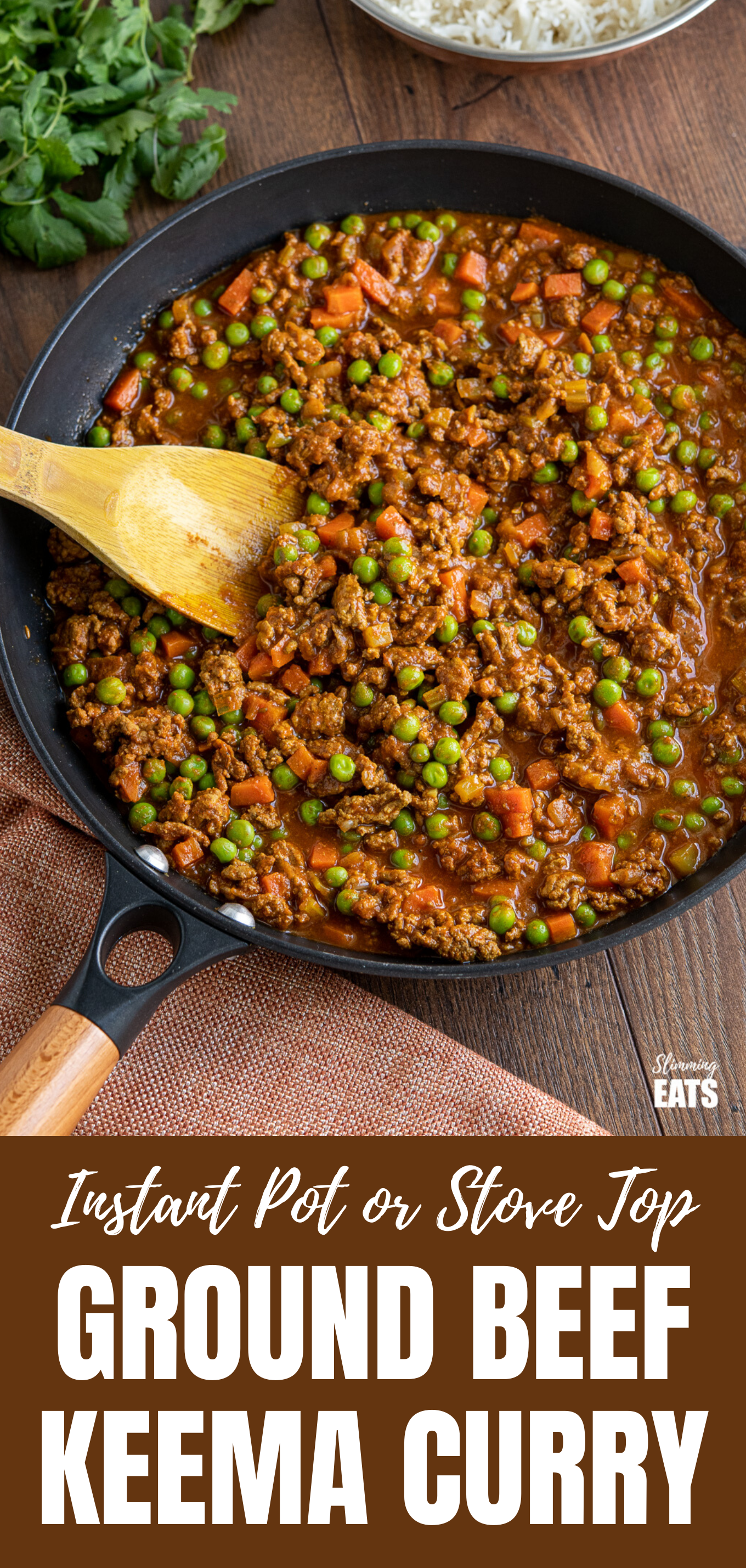 Easy Keema Curry featured pin image