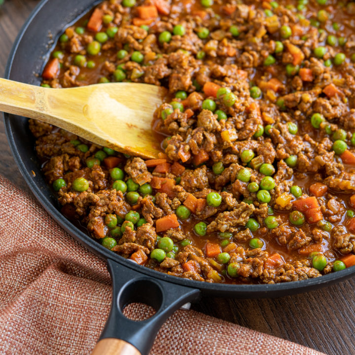 Keema Curry (Stove Top or Instant Pot