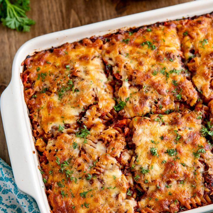Syn Free Best Ever Bolognese Pasta Bake