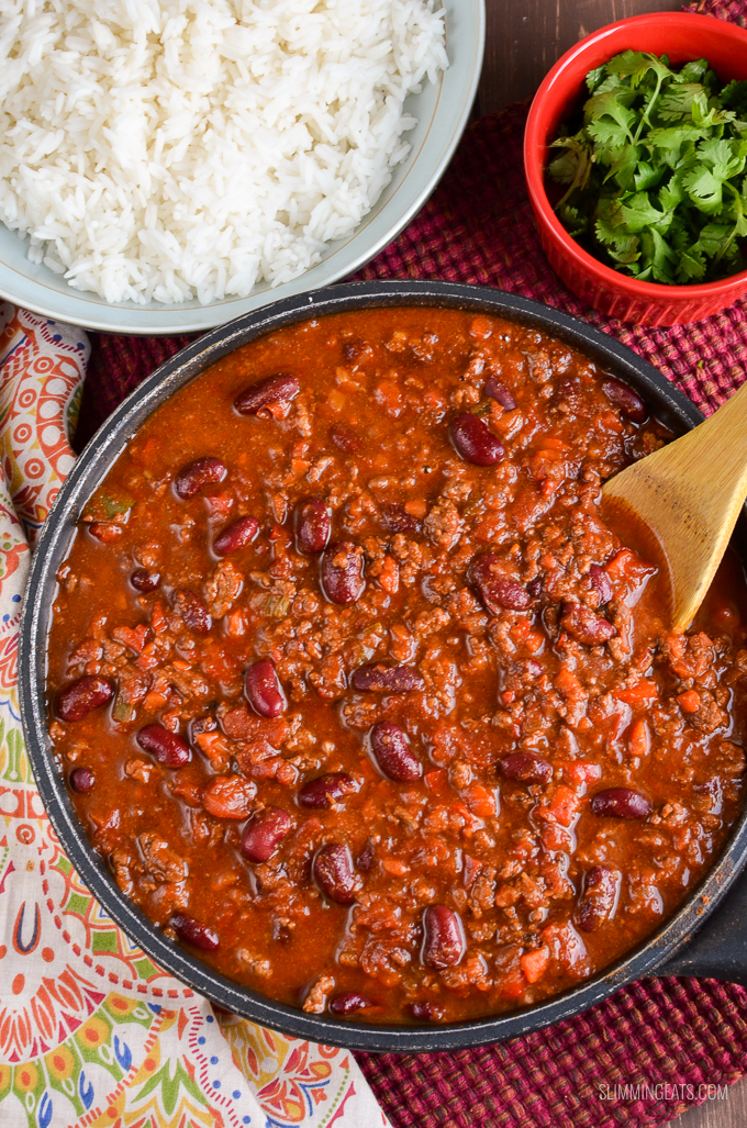 Syn Free Chilli Con Carne | Slimming Eats - Slimming World ...