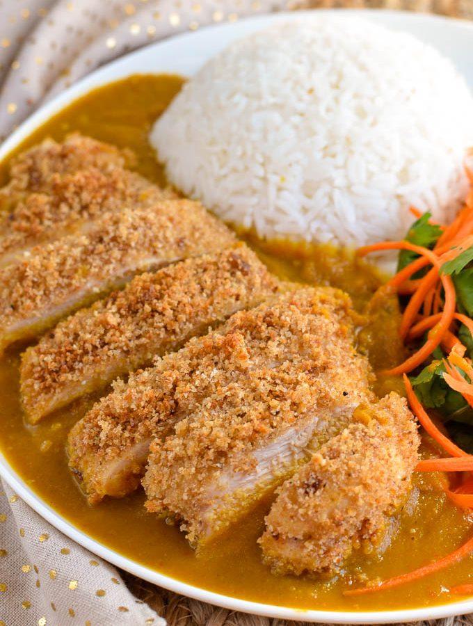 Low Syn Chicken Katsu Curry
