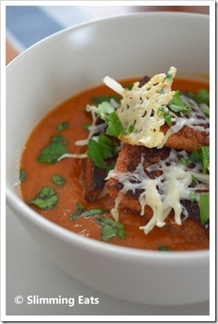 tomato soup with tomato soup with parmesan roasted asparagus soup ...