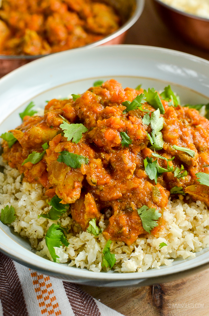 Slimming Eats Chicken and Vegetable Curry - gluten free, dairy free, paleo, Whole30, Slimming World and Weight Watchers friendly