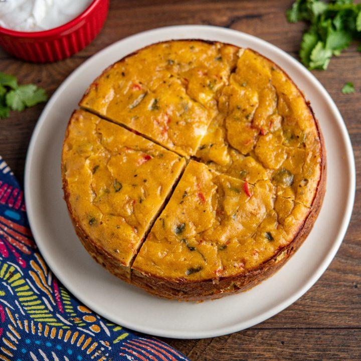 Lentil Cheddar Bake