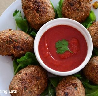 Baked Spicy Kibbeh