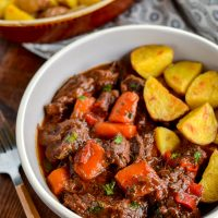 Balsamic Braised Beef (Stove Top, Slow Cooker and Instant Pot)
