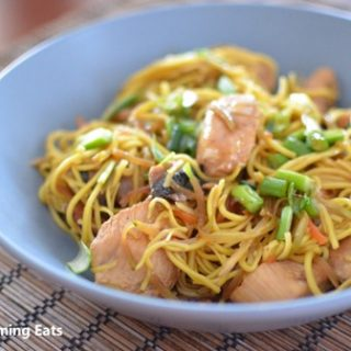 Yakitori Chicken with Noodles